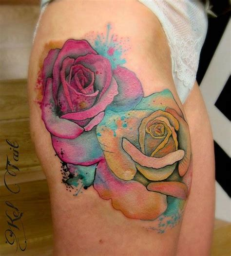watercolor tattoo barcelona watercolor watercolor two on