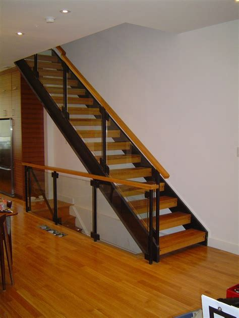 solid banister 13 best images about glass stair rail on pinterest