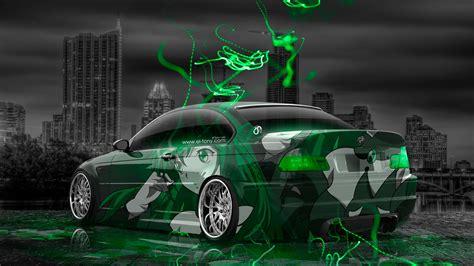 bmw   anime aerography city car  el tony