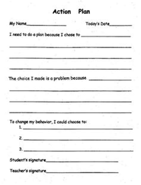 Classroom Behavior Plans Middle Behaviour Pinterest Best Classroom Behavior Plans Classroom Management Plan Template 2