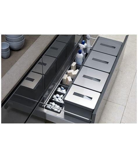 tecnoinox accessori cucina kit pattumiera da cassetto tecnoinox t2 mancini