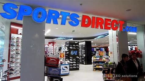 sports direct digital signage case study retail signage