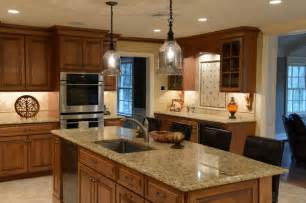 Shiloh Kitchen Cabinets Beautiful Maple With A Stain Glaze Finish Italian Granite