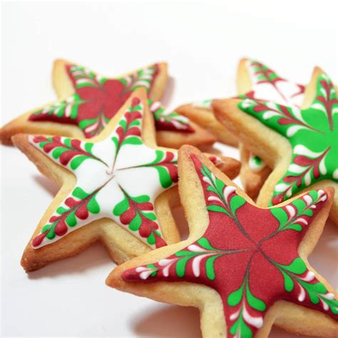 christmas stars cookie decorating kit by sarah hurley