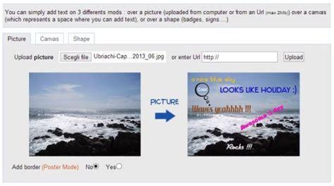 inserire testo su foto inserire testi nelle foto con picfont
