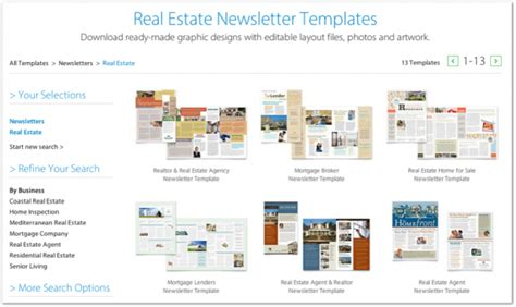 real estate newsletters templates 12 best real estate newsletter template resources placester