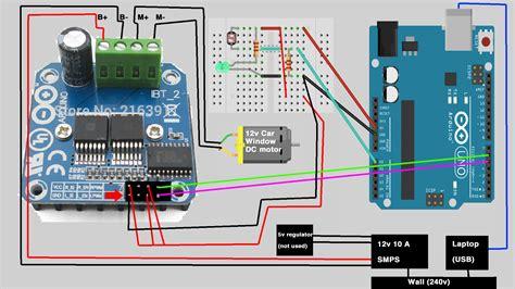 capacitor queima motor ajuda erro do circuito queima de ponte h laboratorio de garagem arduino eletr 244 nica