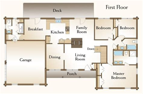 new 4 bedroom log home floor plans new home plans design 3 bedroom log cabin floor plans new the brewster log home