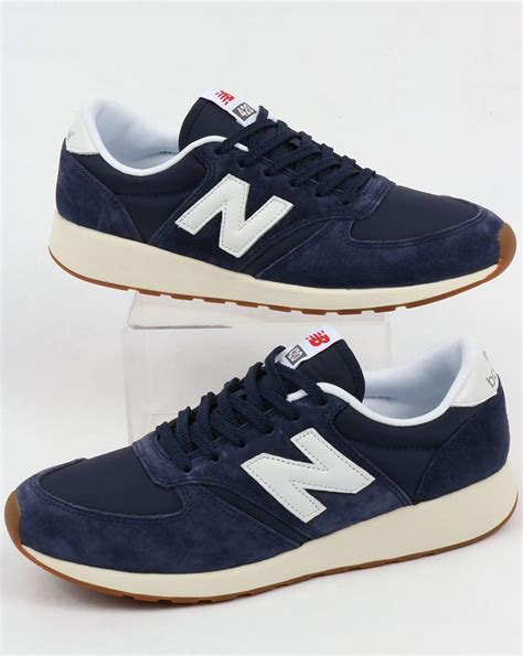 New Balance 420 new balance 420 re engineered suede trainers navy white