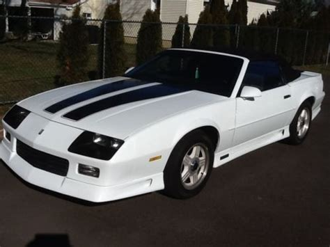 1992 camaro rs 25th anniversary for sale find used 1992 camaro rs convertible 25th anniversary in