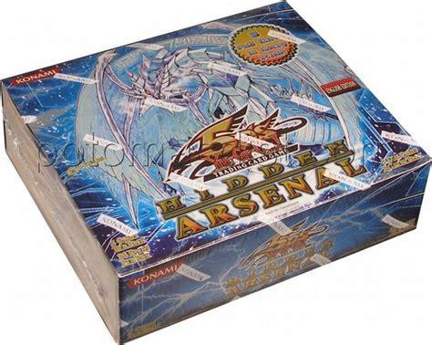 Yu Gi Oh Box 1 Yu Gi Oh Arsenal 1 Booster Box Potomac Distribution