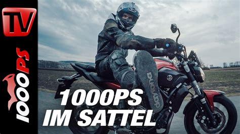 Motorrad Auspuff Mt 07 by Video 1000ps Im Sattel Yamaha Mt 07 Tuning Neues