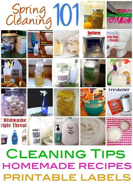 Spring House Cleaners by Spring Cleaning 101 Cleaning Tips Homemade Recipes And