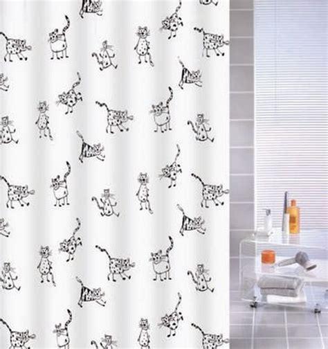 black cat shower curtain cat shower curtain cats peva kleine wolke shower curtain