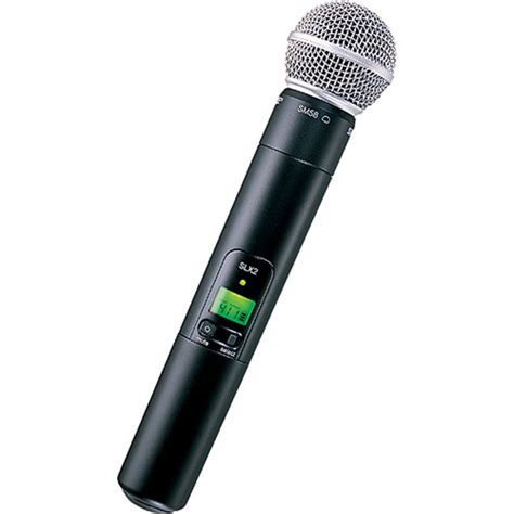 Microphone Wireless Shure Uhf 555 Wireless Microphone 2 Clip On shure slx2 handheld wireless uhf transmitter slx2 sm58 h5 b h