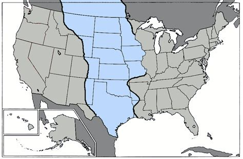 texas great plains map the 2nd revised version of the us separated into distinct regions with the help of your comments