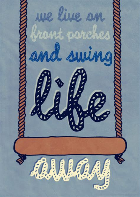 swing your life away art design graphic design graphics hand drawn image