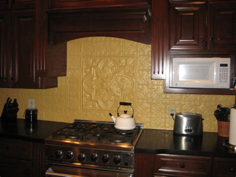 Faux Kitchen Backsplash - how 2 install faux tin backsplash apps directories