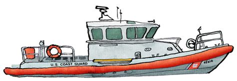 how to draw a rescue boat uscg buoy tender bowsprite