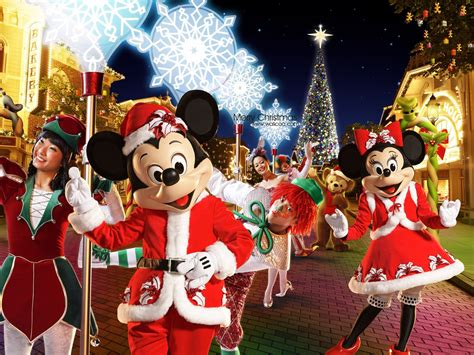 mickey mouse on christmas wallpapers and images
