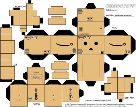 How To Make A 3d Figure Out Of Paper - kartonm 228 nnchen bastelanleitung kartonmaennchen