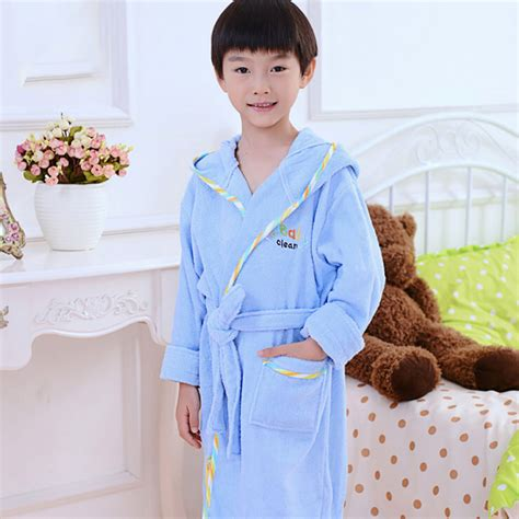 Bumbee Pajamas Piyama Anak 4 autumn winter toweling robes baby boys bathrobes pijamas children bathing suit bath