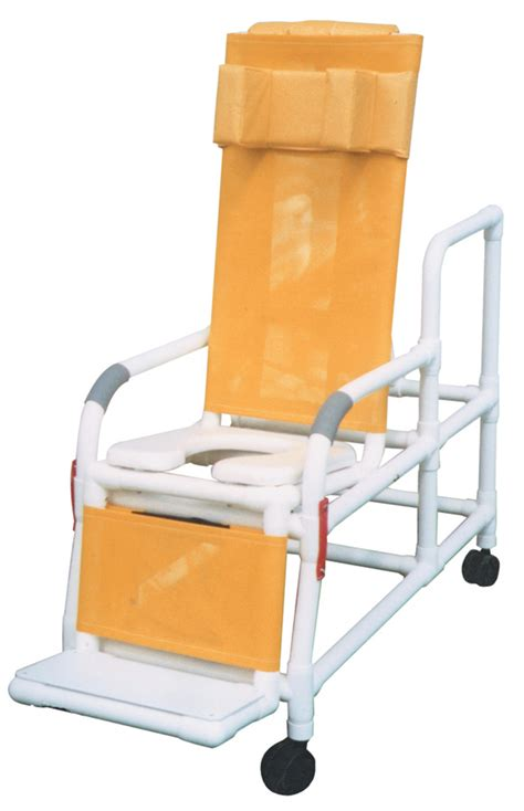 pvc reclining shower chair reclining pvc shower chairs chairs pvcm193tis medline