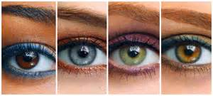 what colors make green pop make your eye color pop
