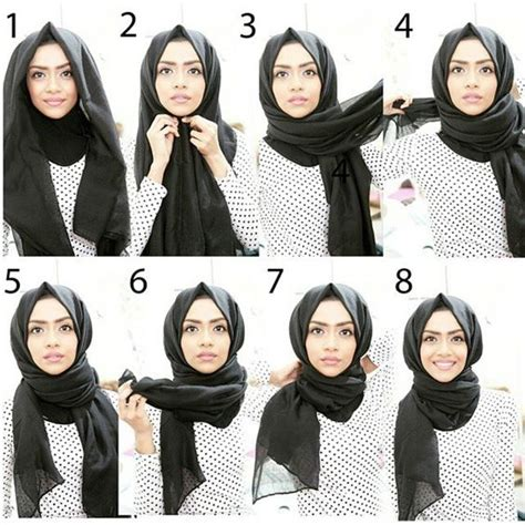 tutorial pashmina turki simple hijab tutorial works well with wide rectangular