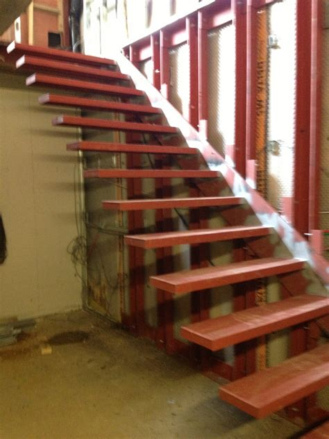 floating stairs floating stairs steel fabrication and installation