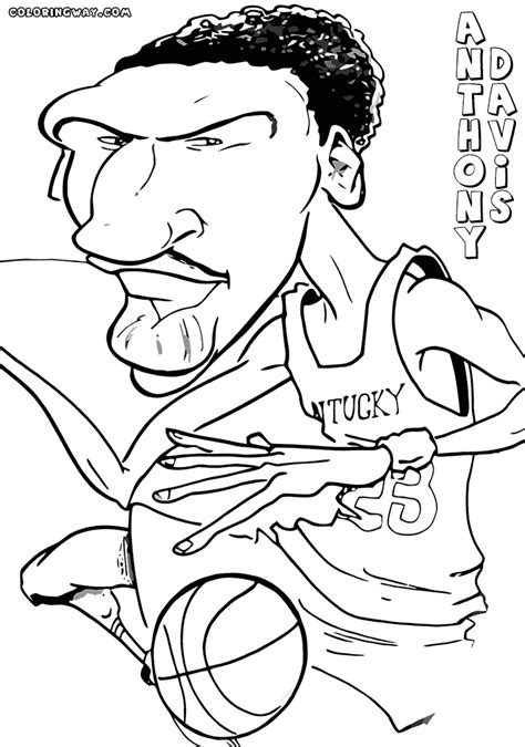 coloring pages of basketball players of the nba nba players coloring pages coloring pages to download