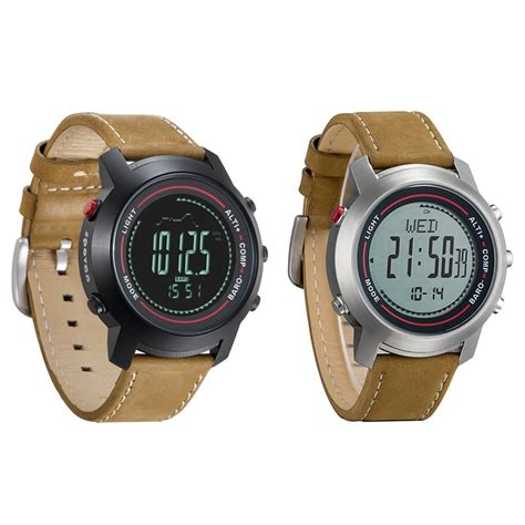 digital watches leather band mg 01 sports w