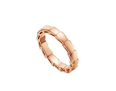 bulgari serpenti gold wedding band an856868 bvlgari