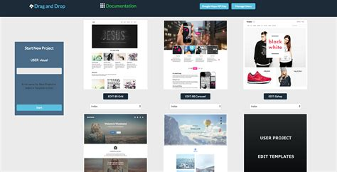 Visual Drag And Drop Bootstrap Html Templates Creator By Web Zone Codecanyon Drag And Drop Website Templates