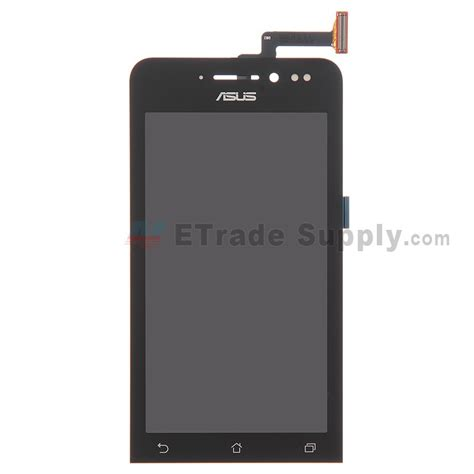 Lcd Asus Zenfone 6a600cgts Hitam asus zenfone 4 a450cg lcd screen and digitizer assembly black etrade supply