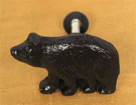 rustic cabinet pulls and knobs rustic black metal drawer knob pulls lodge decor