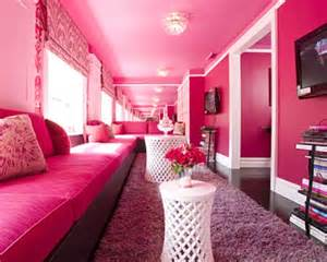 Hot Pink Bedroom Think Pink Hot Pink Tobi Fairley