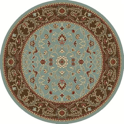 round accent rug nuloom verona blue 7 ft 10 in x 7 ft 10 in round area