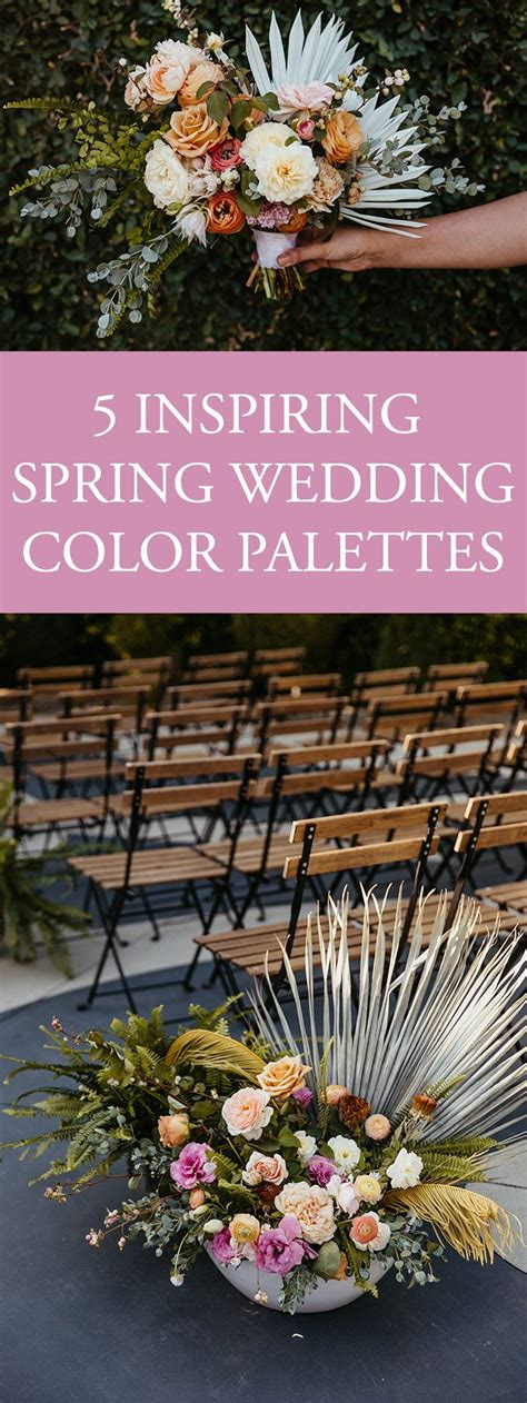 color palette ideas 5 inspiring wedding color palette ideas junebug