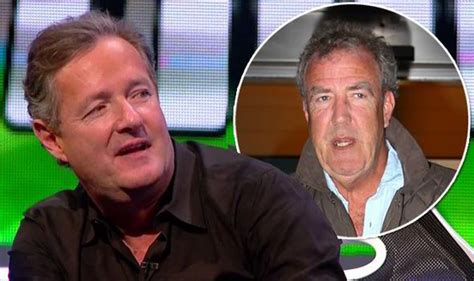 clarkson punches piers piers admits he regrets not punching rival