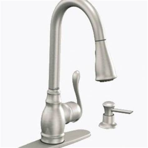Moen Anabelle Kitchen Faucet Moen Anabelle One Handle High Arc Pull Kitchen Faucet Stainless