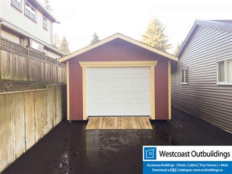 12 X 20 Garage by 12 X 20 Modular Garage Westcoast Outbuildings