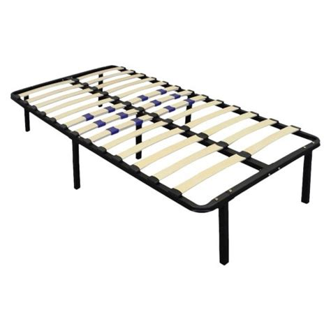 Box Springless Bed Frame Platform Bed Frame Box Replacement With Adjustable Lumbar Support Eco Target