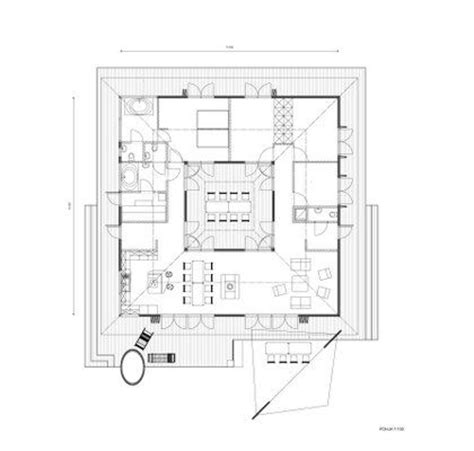 central courtyard house plans large size house central courtyard house central