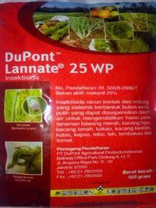Dupont Lannate 25 Wp Insektisida insecticides