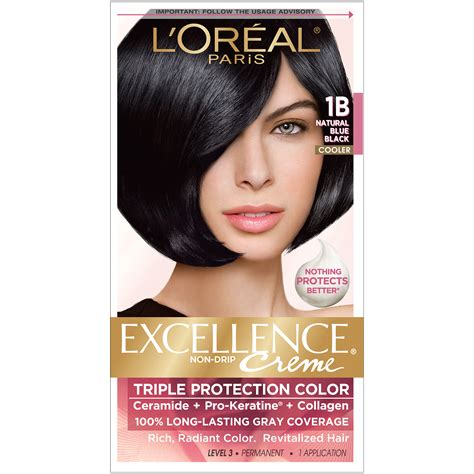 coloring l oreal hair color unique l oreal garnier color sensation 30 2014 24 best of l l oreal protection 1b cooler blue black hair color 1 kt box hair care