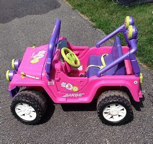 barbie jeep 1990s pin funny jeep barbie car on pinterest
