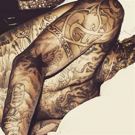 wiz khalifas tattoos all wiz khalifa tattoos meanings etc