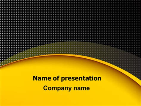 theme powerpoint yellow yellow arch theme powerpoint template backgrounds 07900