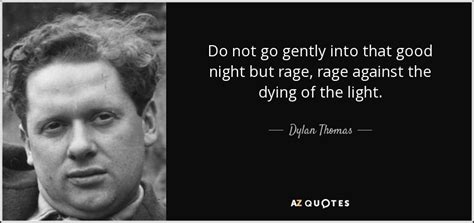 do not go gently into that night rage rage against your do not go gentle into that good night